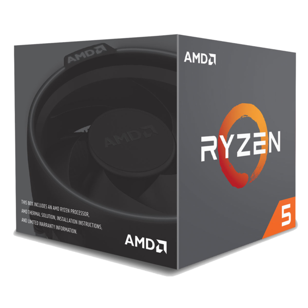 AMD Ryzen 5 2600 Wraith Stealth Edition (3.4 GHz) - GEARUP